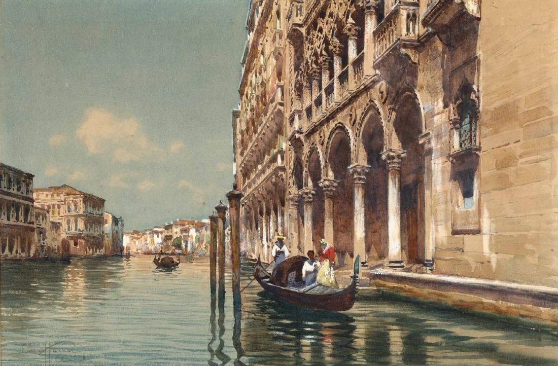 Aurelio Craffonara (1875-1945), attribuito a, Veduta di