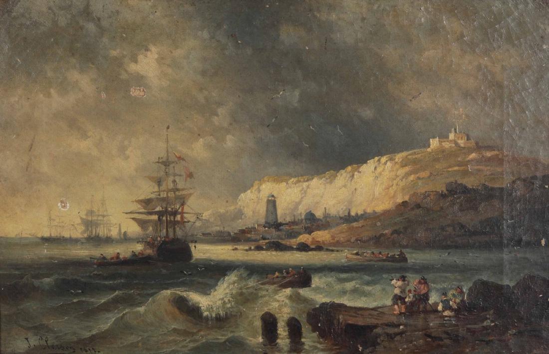 J. Clorson, Coppia di Marine