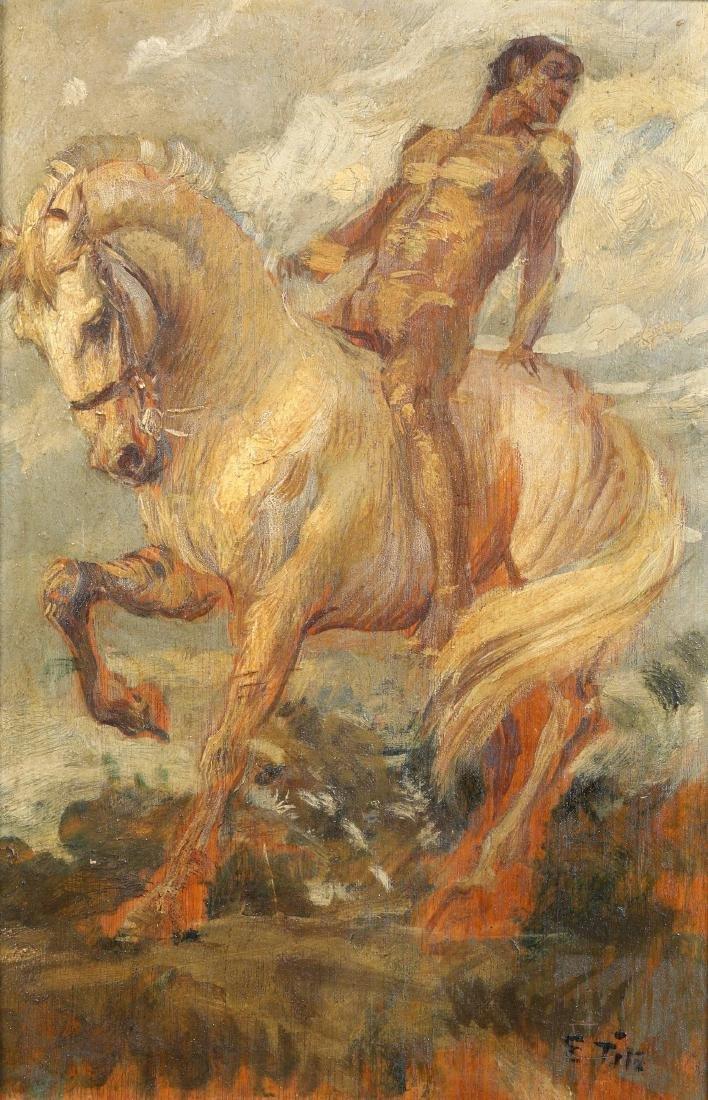 Ettore Tito (1859-1941), L'eroe
