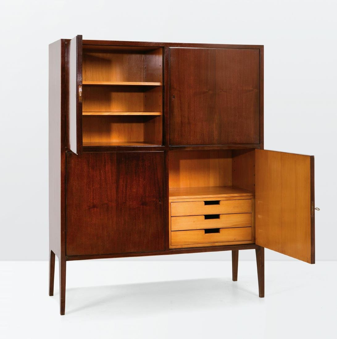 Augusto Romano, a wooden sideboard. Italy, 1950 ca.