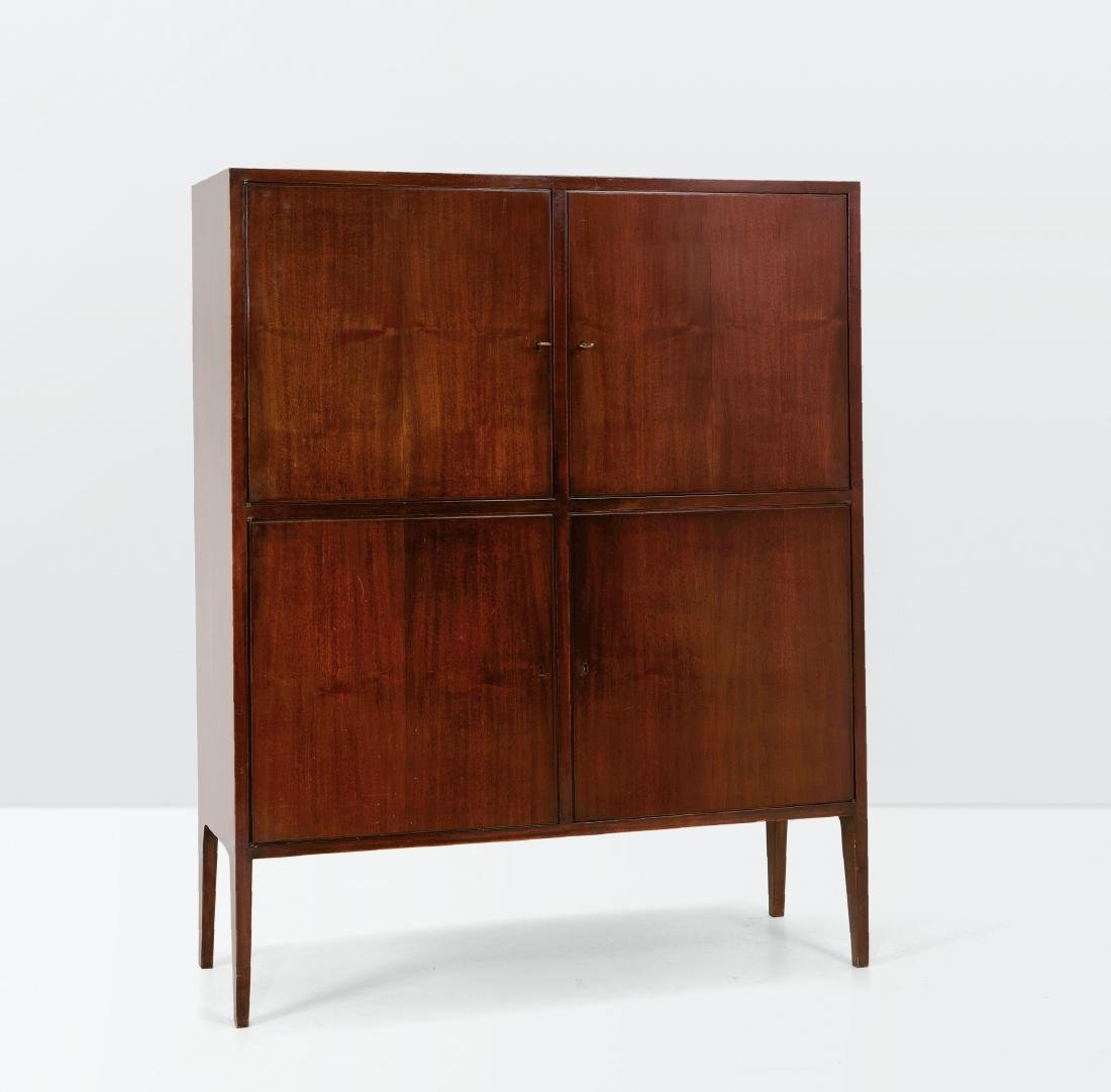 Augusto Romano, a wooden sideboard. Italy, 1950 ca. - 2