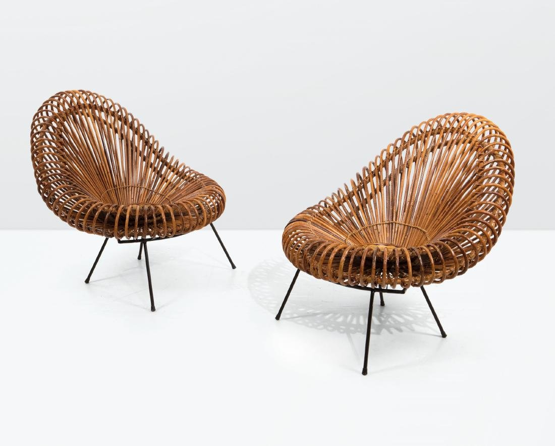 Janine Abraham and Dirk Jan Rol, a pair of rattan