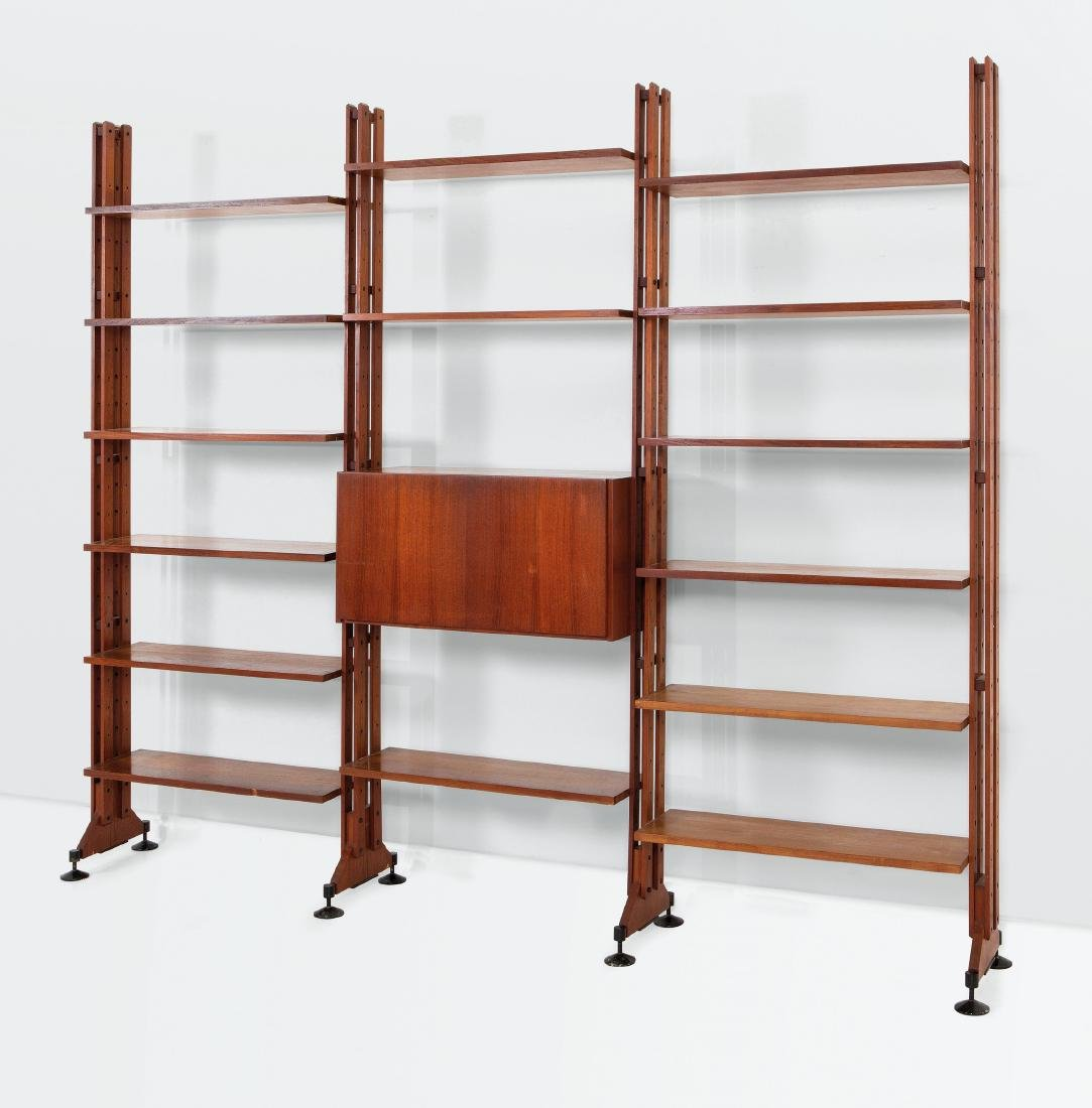 Franco Albini and Franca Helg, a LB10 bookcase with a