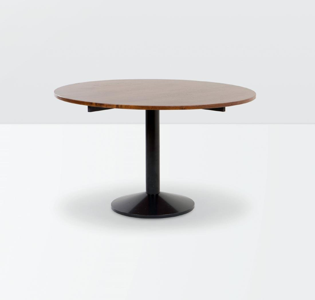 Franco Albini, a TL30 table with a lacquered metal
