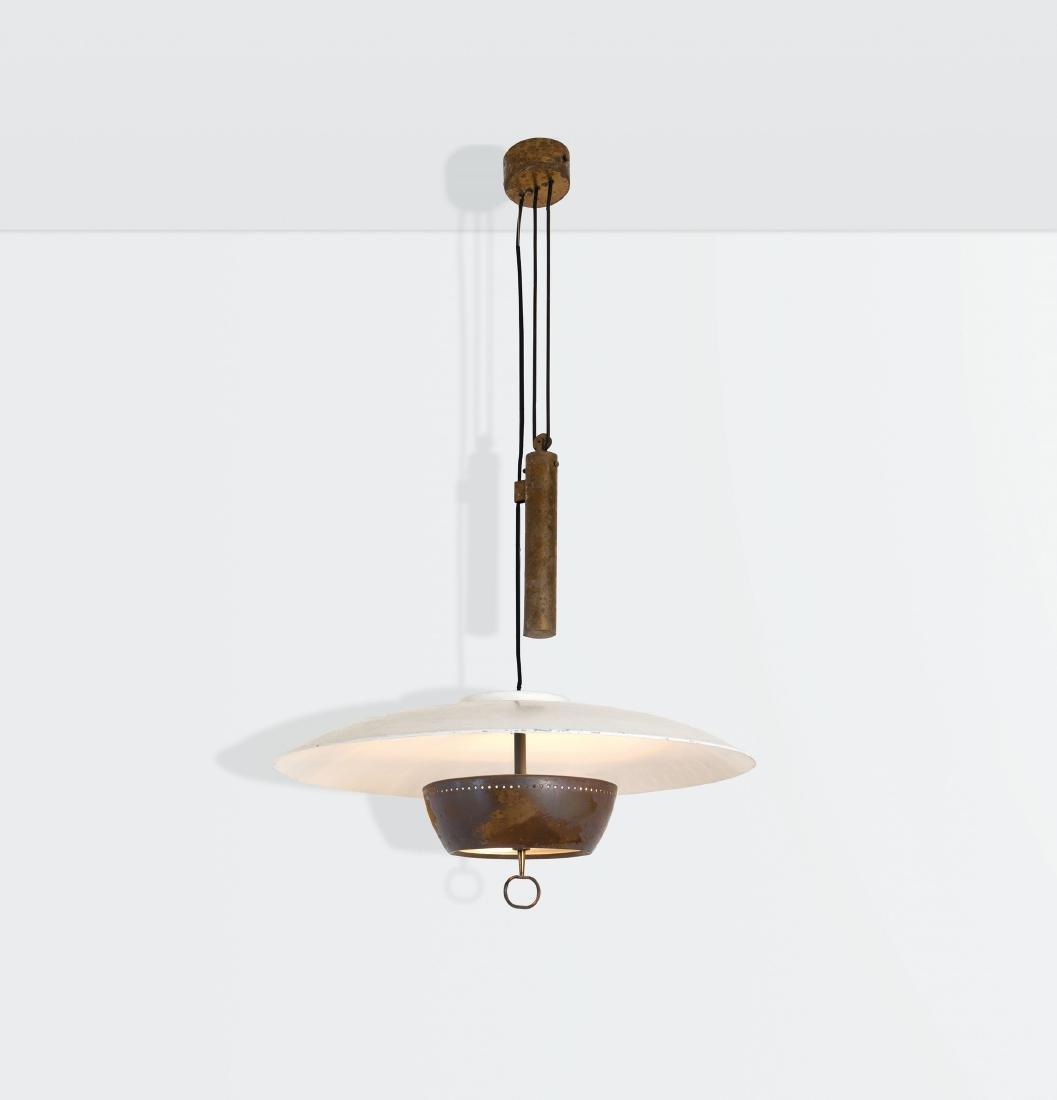 Gaetano Sciolari, an adjustable ceiling lamp with a