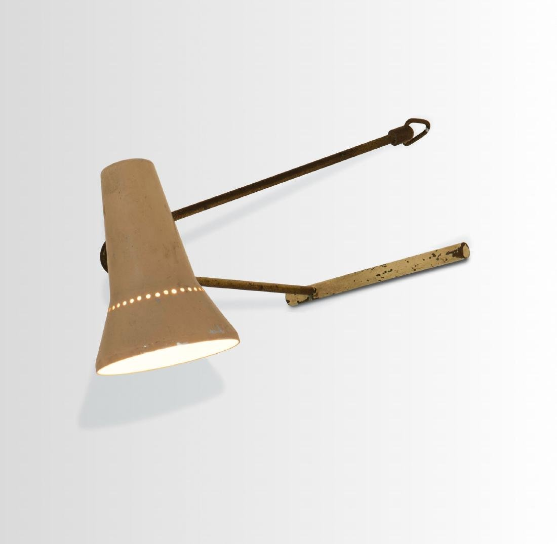 Stilnovo, a table lamp or wall lamp with a brass