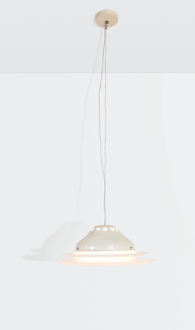 Gino Sarfatti, a mod. 2052 ceiling lamp with a