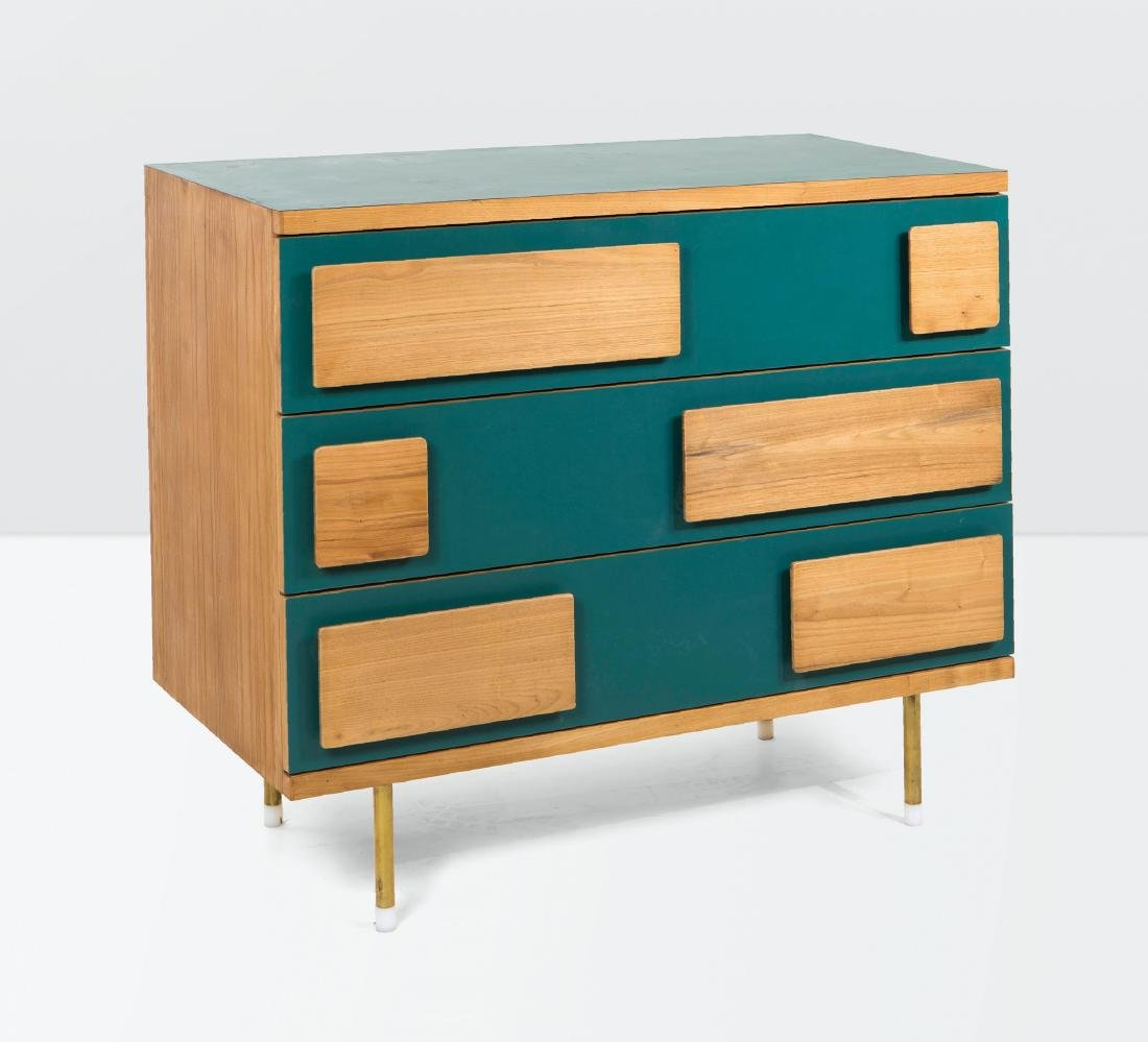 Gio Ponti, a sideboard in wood and laminated wood.
