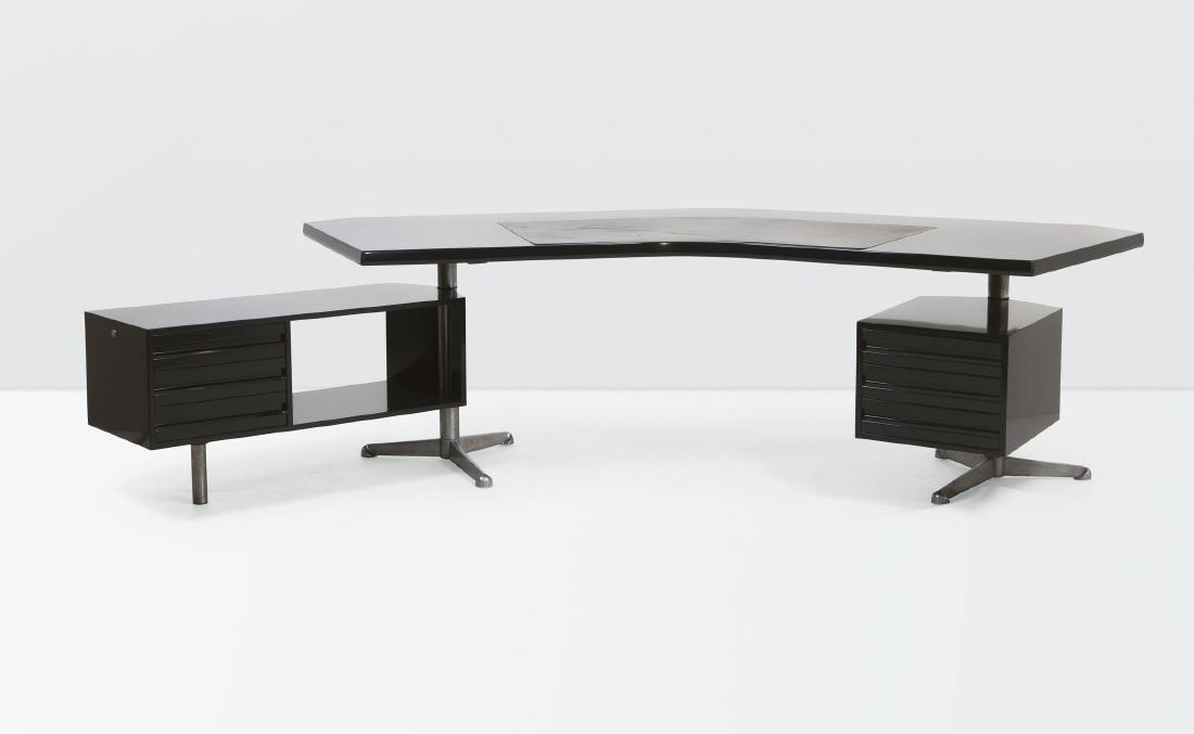 Osvaldo Borsani, a T96 executive desk in lacquered