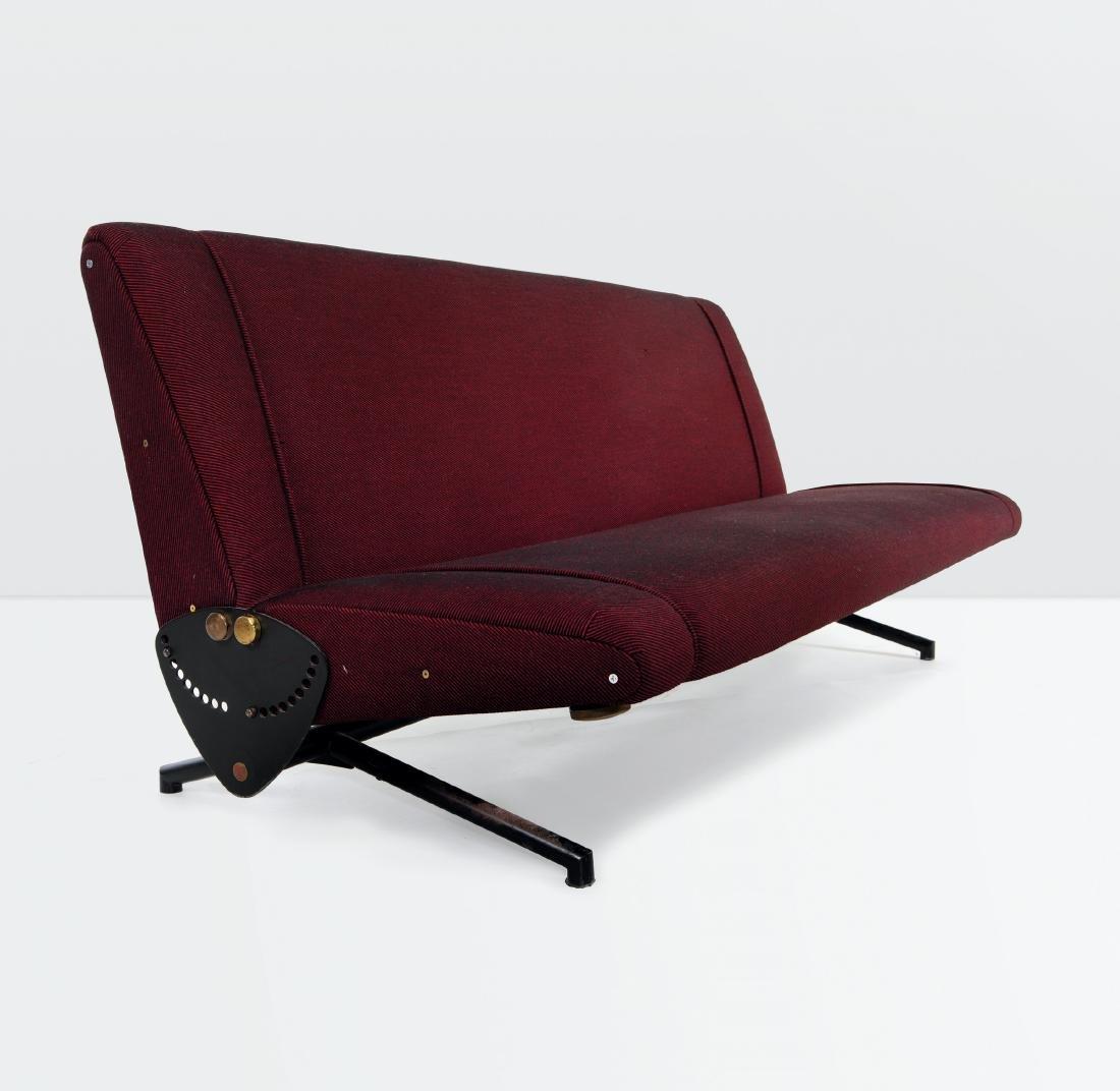 Osvaldo Borsani, a D70 sofa with a movable metal
