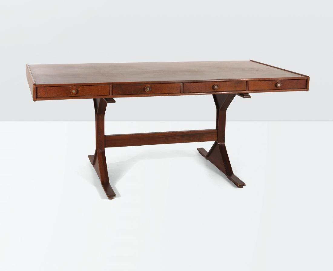 Gianfranco Frattini, a mod. 530 desk with a wooden
