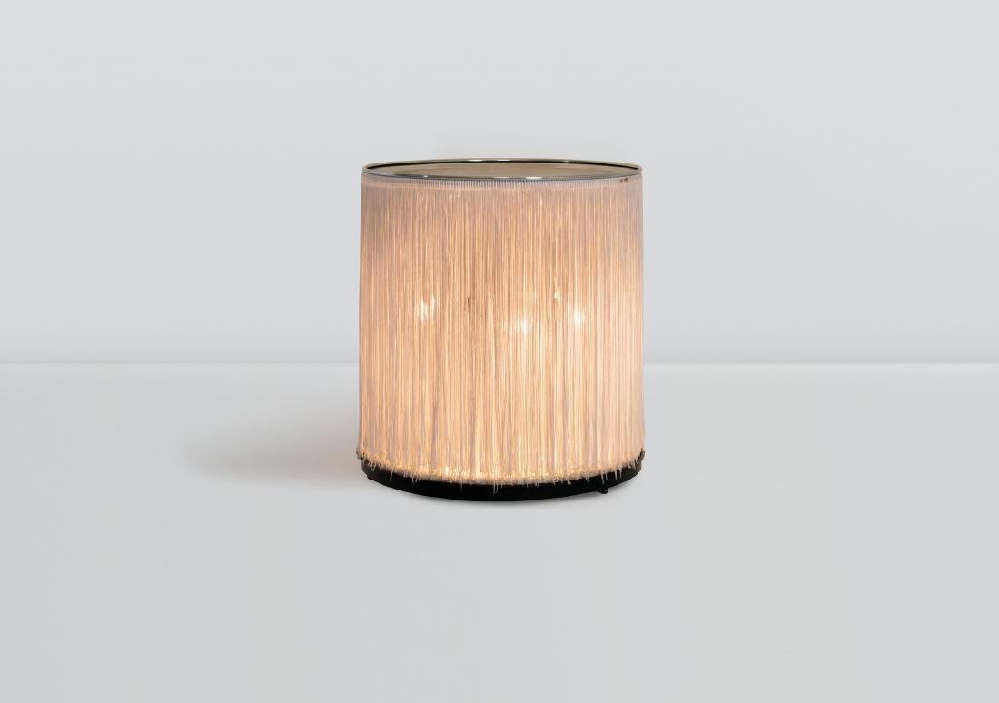 Gianfranco Frattini, a mod. 597 lamp with a polished