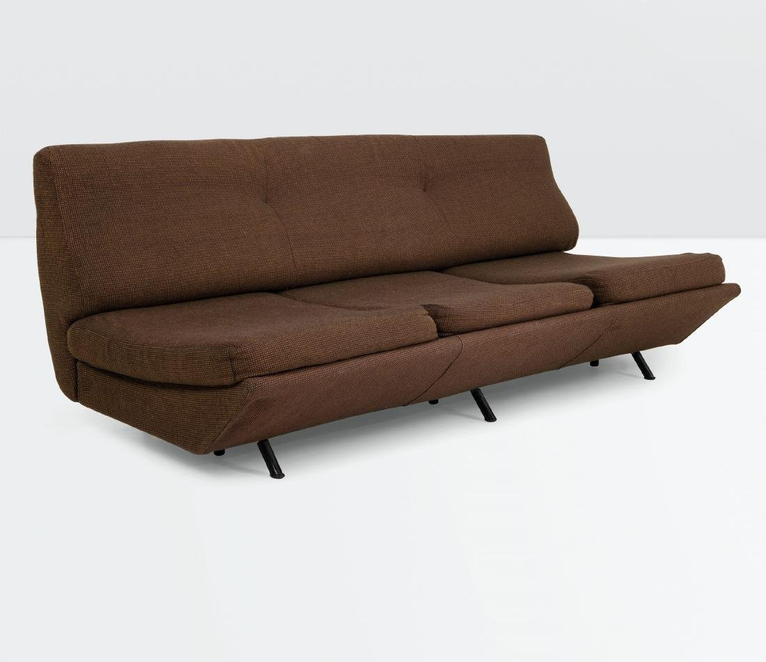 Marco Zanuso, Sleep-O-Matic sofa. Tubular metal