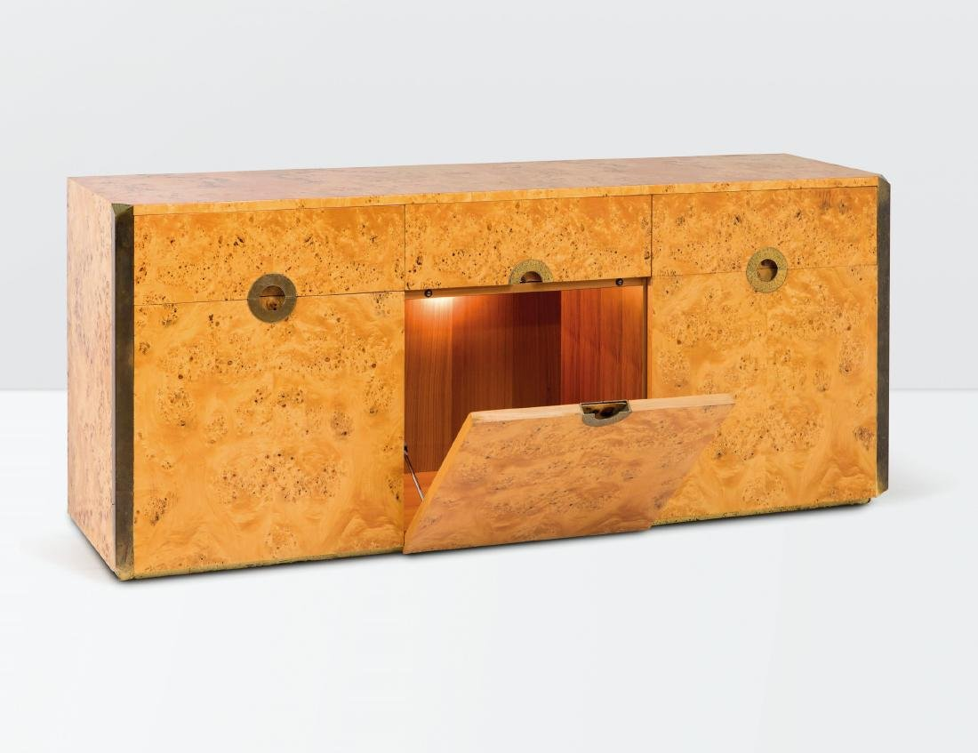 Willy Rizzo, a Savage sideboard with a wooden