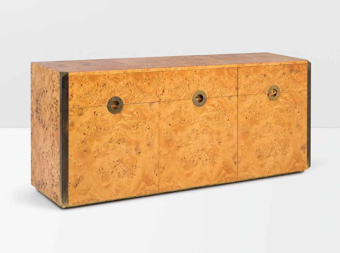 Willy Rizzo, a Savage sideboard with a wooden - 2