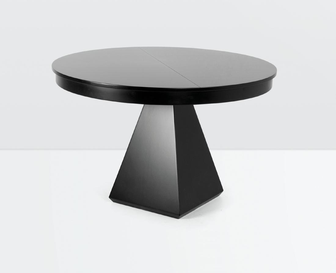 Vittorio Introini, a Chelsea table with a lacquered