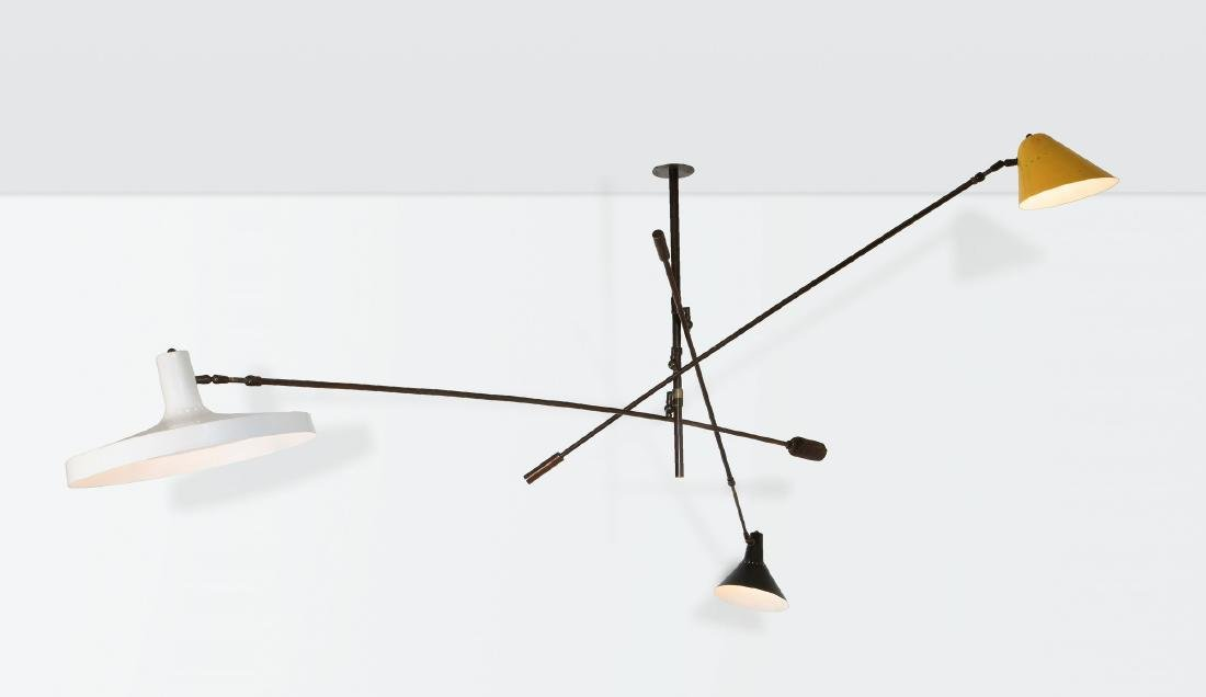 Stilnovo, a rare lamp with extendable and adjustable