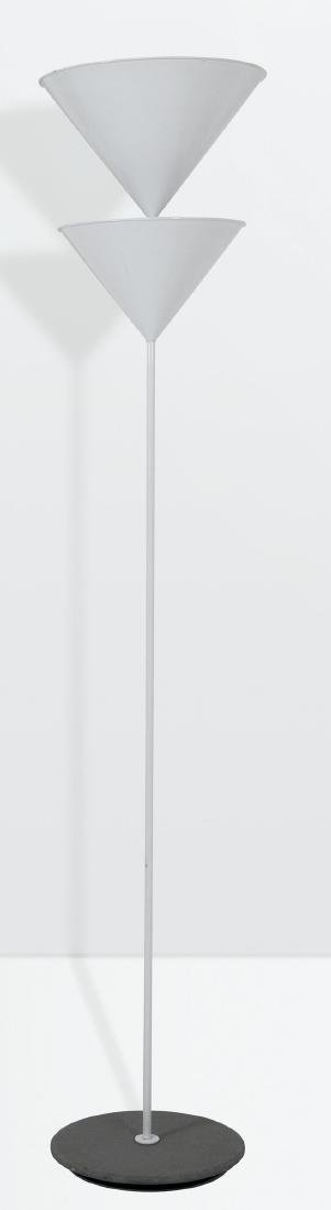 Vico Magistretti, a Pascal floor lamp with a lacquered