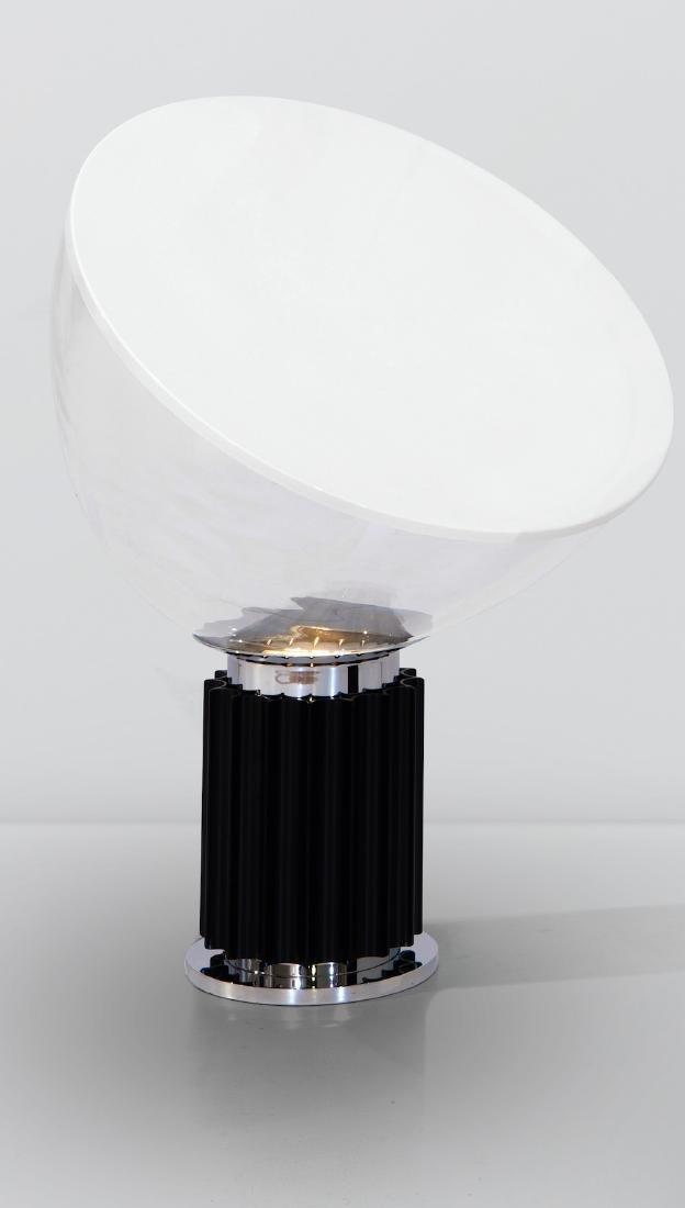 Achille and Pier Giacomo Castiglioni, a Taccia lamp in