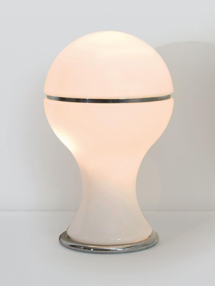 Gianni Celada, a Mongolfiera table lamp in bright white