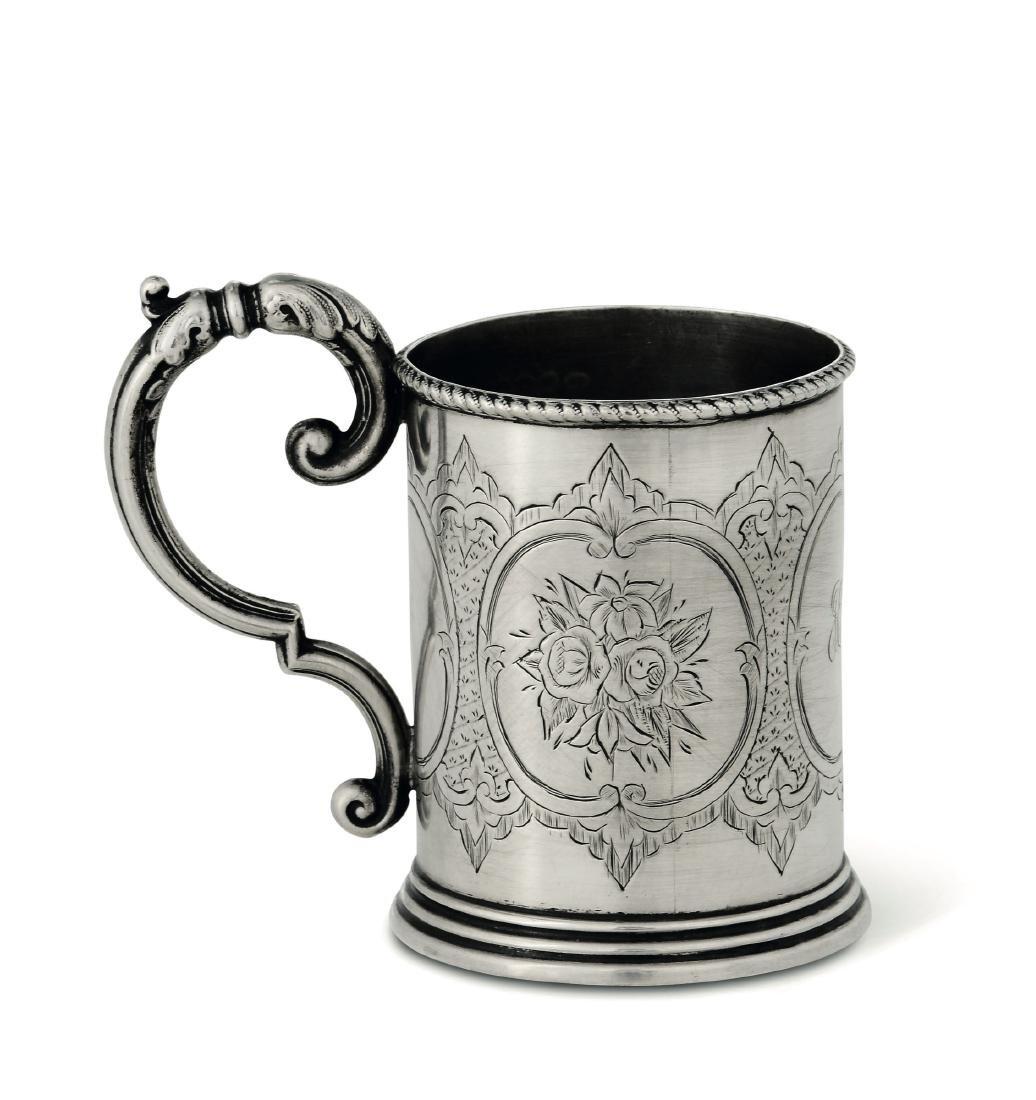 A christening cup, G. Unite, Birmingham, 1874