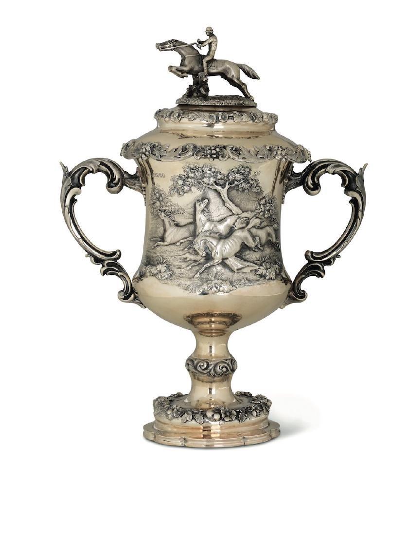 A silver trophy, RH, London, 1864