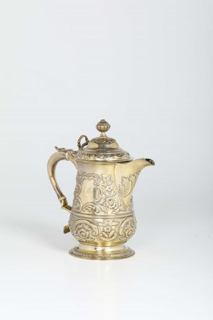 A silver tankard, S&J Crespell, London 1772 - 2