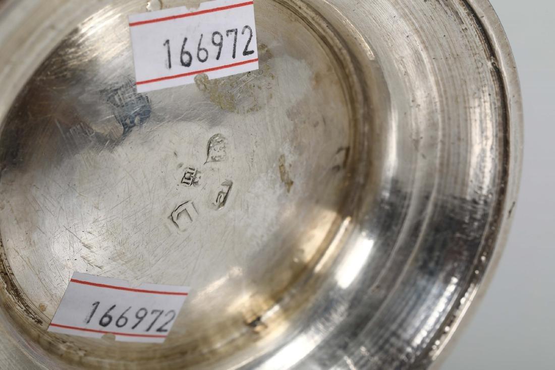 A silver tankard, T.T, London 1726 - 4