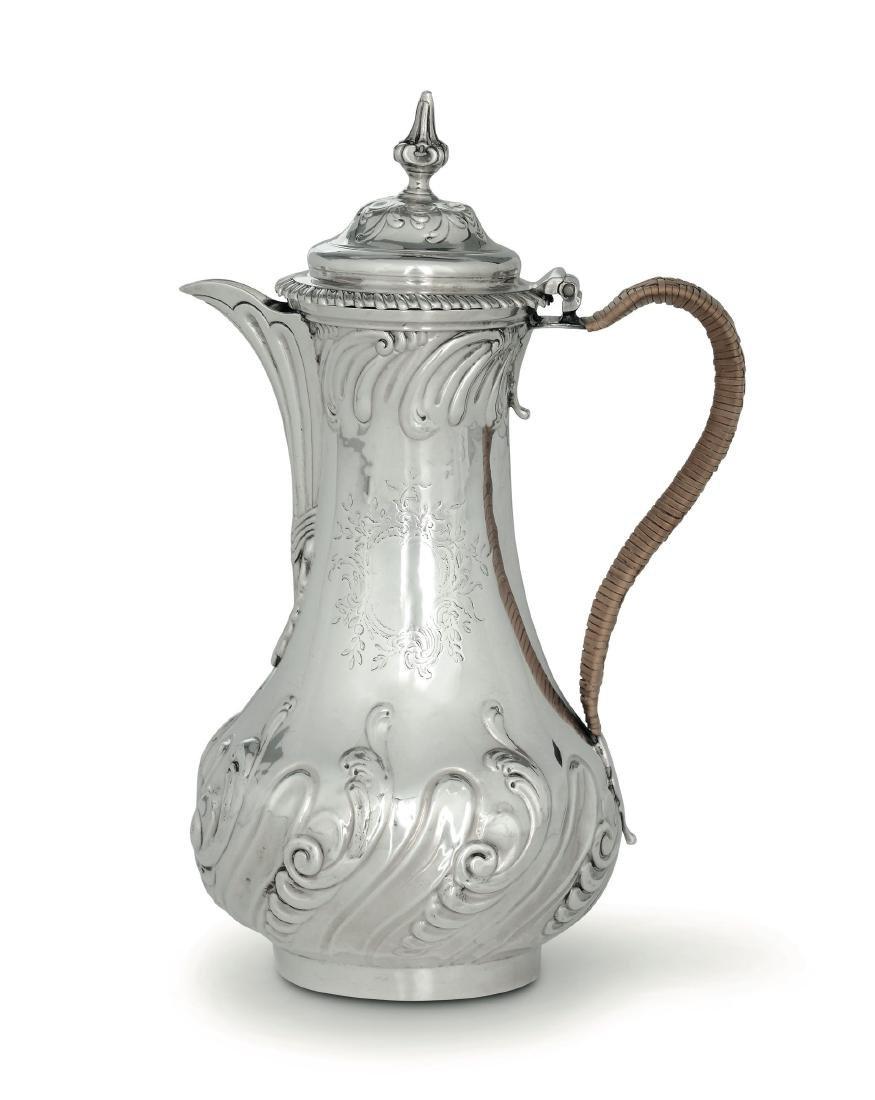 A coffee pot, T. Whifham&C. Wright, London, 1761