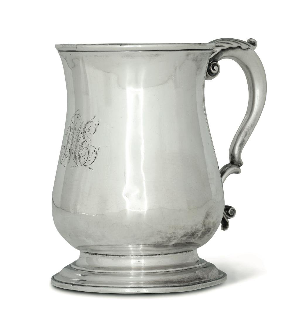 A silver tankard, T. Whipham & C. Wright, London 1759