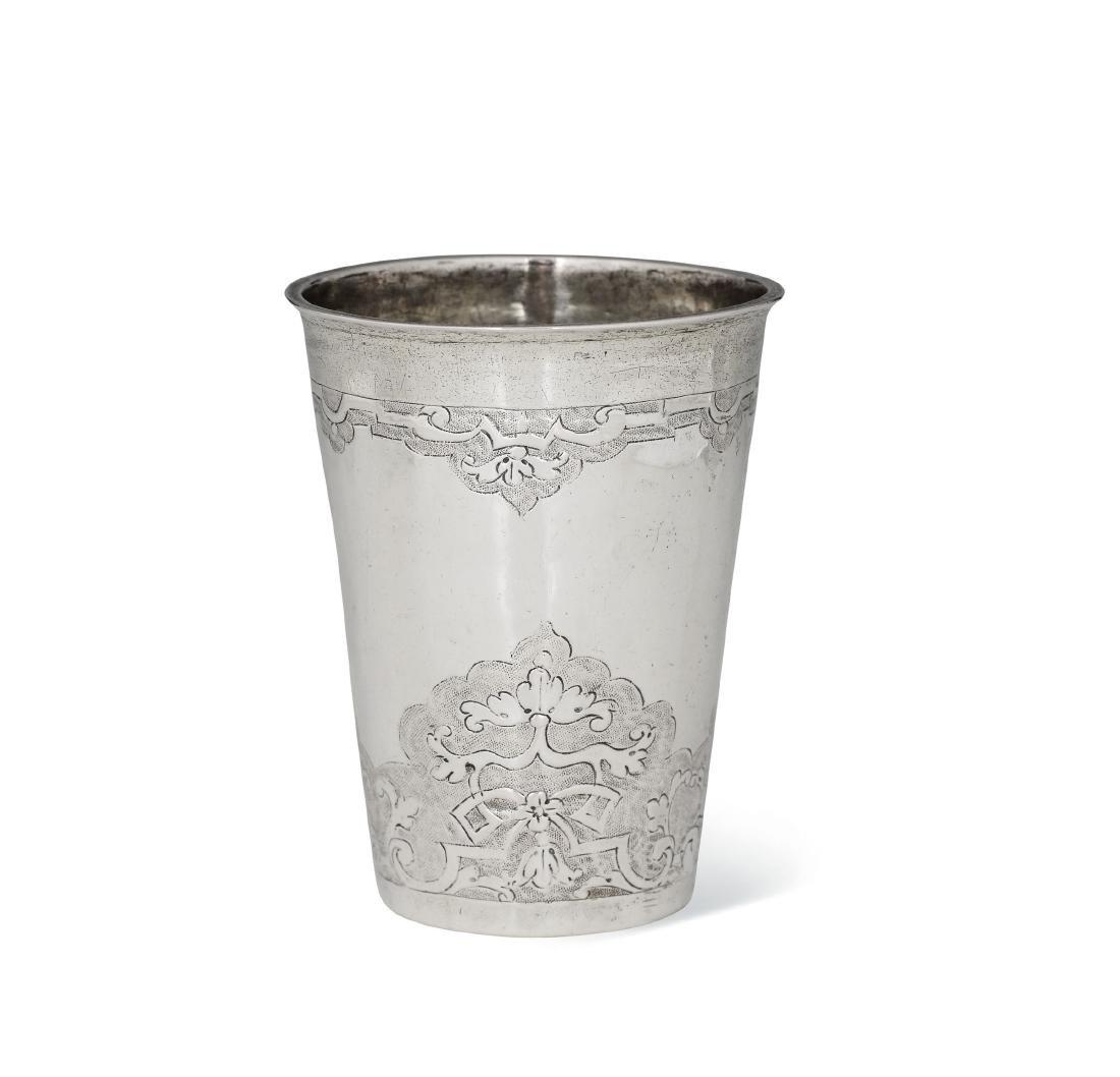 A glass, Germany, Breslau, 1727-1737