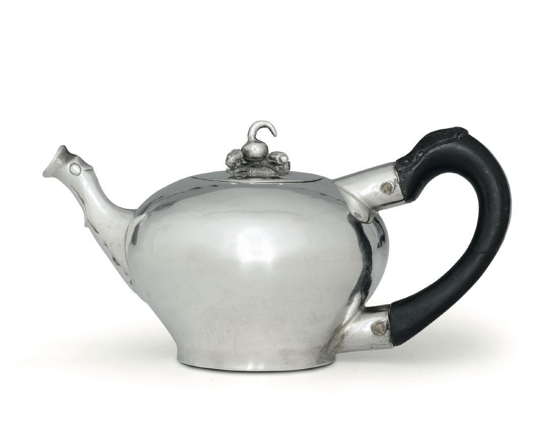 A teapot, J.W. Kolb, Ausburg, 1767-69