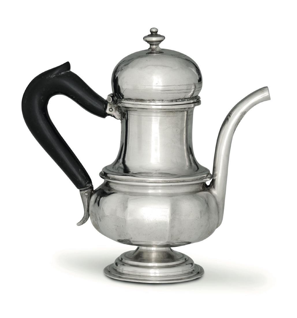A teapot, C. Drentwett, Ausburg, 1720s (?)
