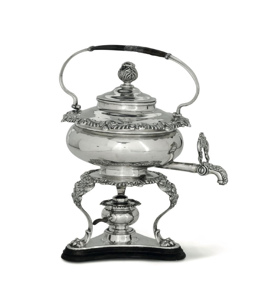 A silver samovar, Vienna 1833