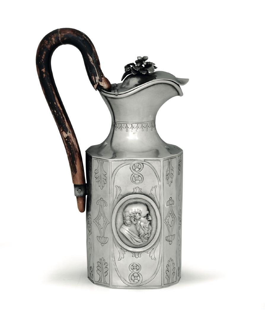 A silver pitcher, Austria, Vienna (?), 1803