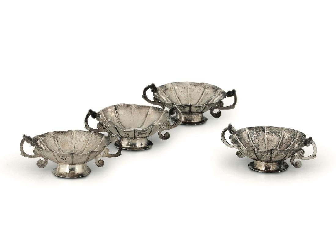 Four cups, Granada, 18th century