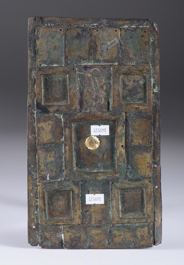A bronze bible cover with semiprecious stones - 2
