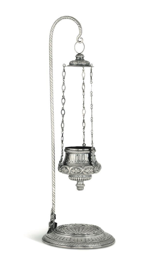 A votive lamp, Italy, 19th century