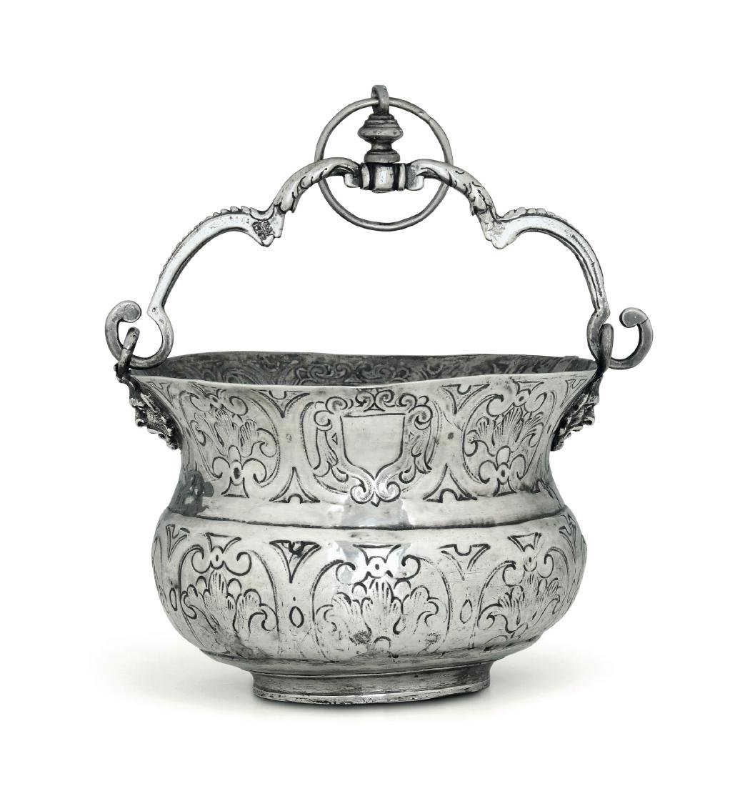A silver bucket, Naples, early 17th century