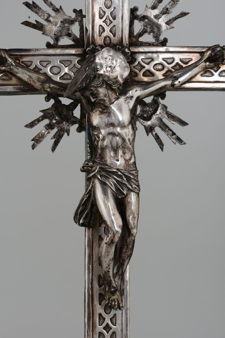 A processional cross, Naples, early 18th century - 2
