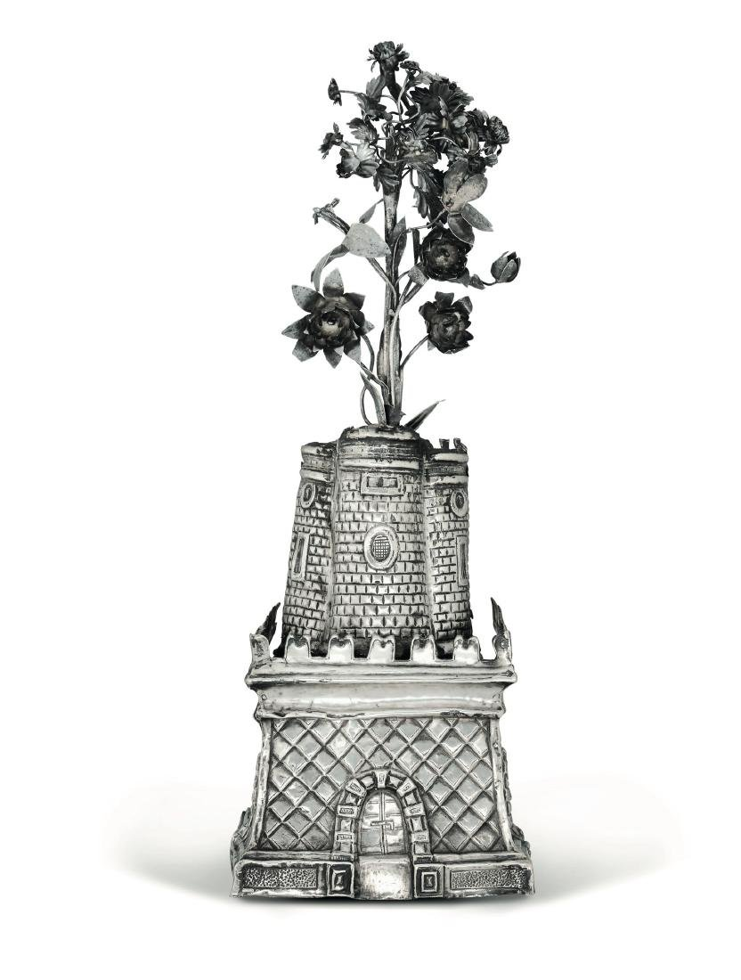 A silver tower, Italy or Spain, 18th century