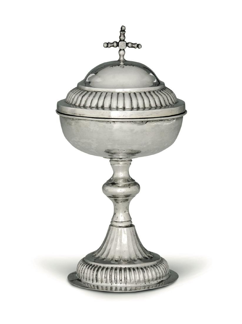 A small ciborium, Genoa (?), 19th century