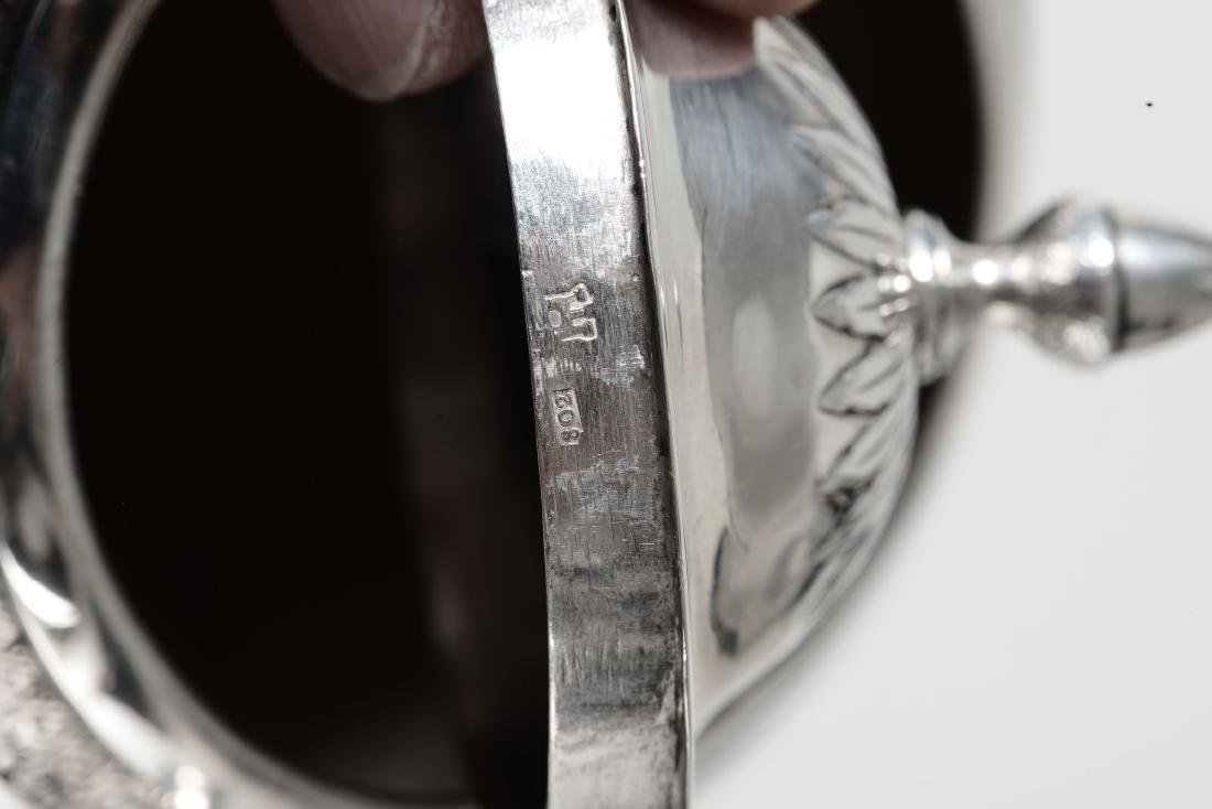 A silver pitcher, Genoa, late 1700s - 5