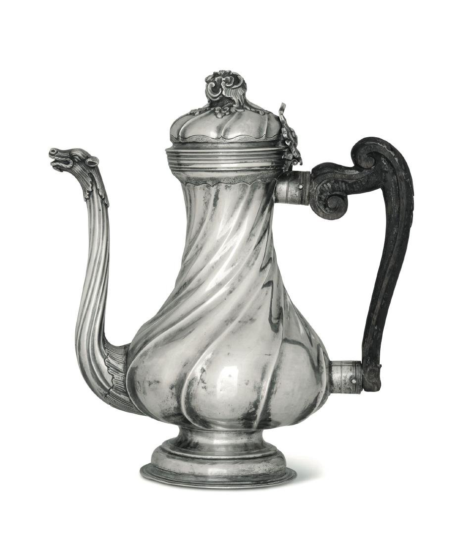 A coffee pot, Genoa, late 18th century