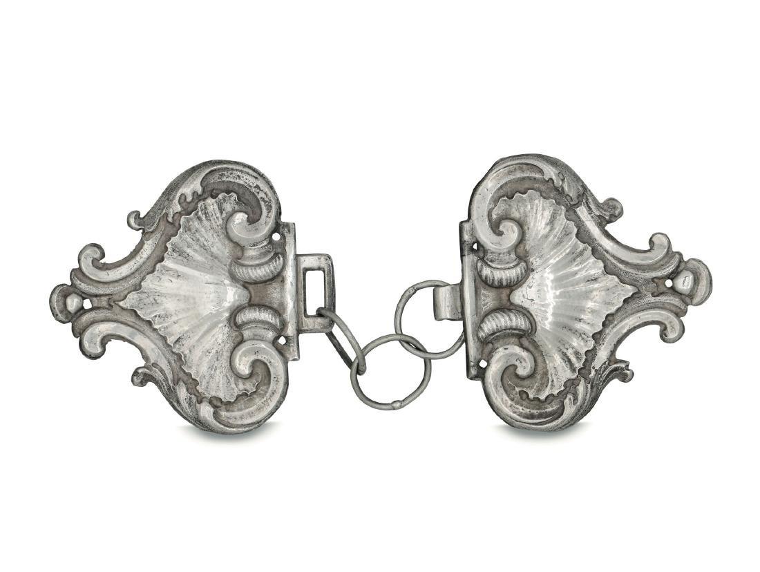 A cope clasp, Genoa, late 18th century