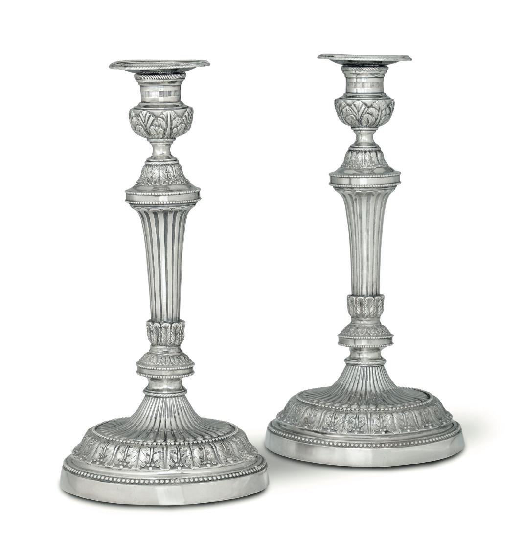 Candle holders, Boucheron, Turin, late 1700s