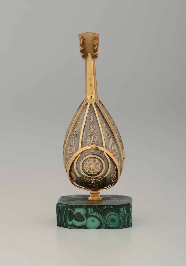 A mandolin model, jeweler Pallanzani, Milan, 20th - 2