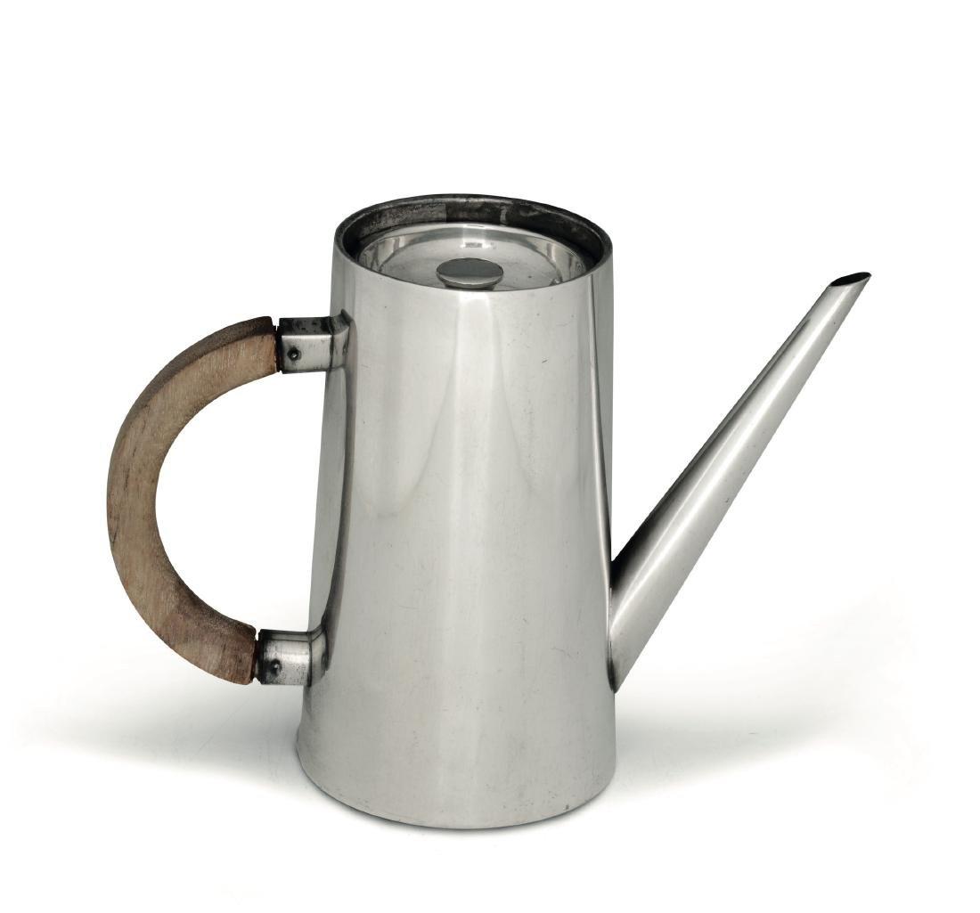 A silver coffee pot, Genazzi, Milan, 20th century