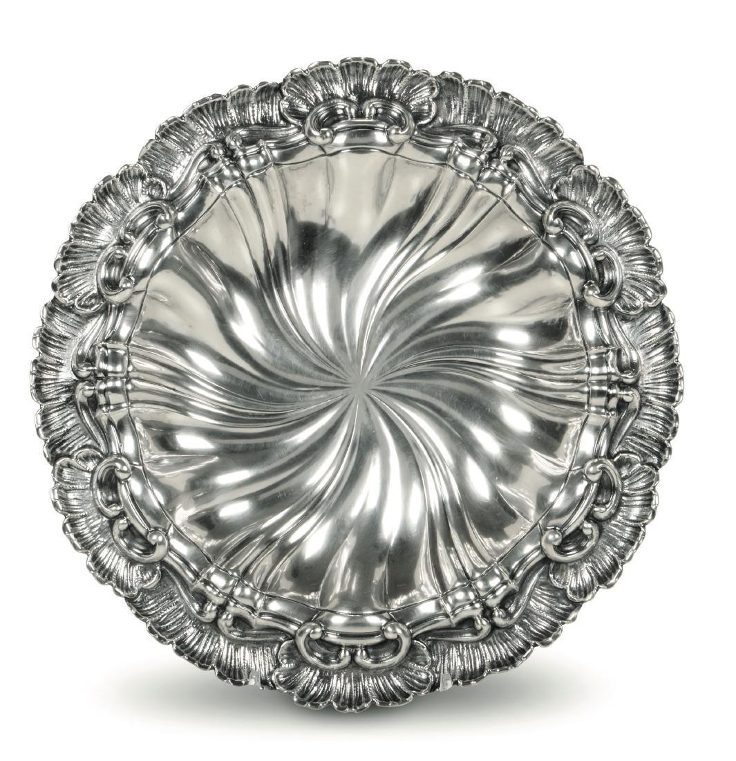 A silver centrepiece, M. Buccellati, Italy, mid 20th
