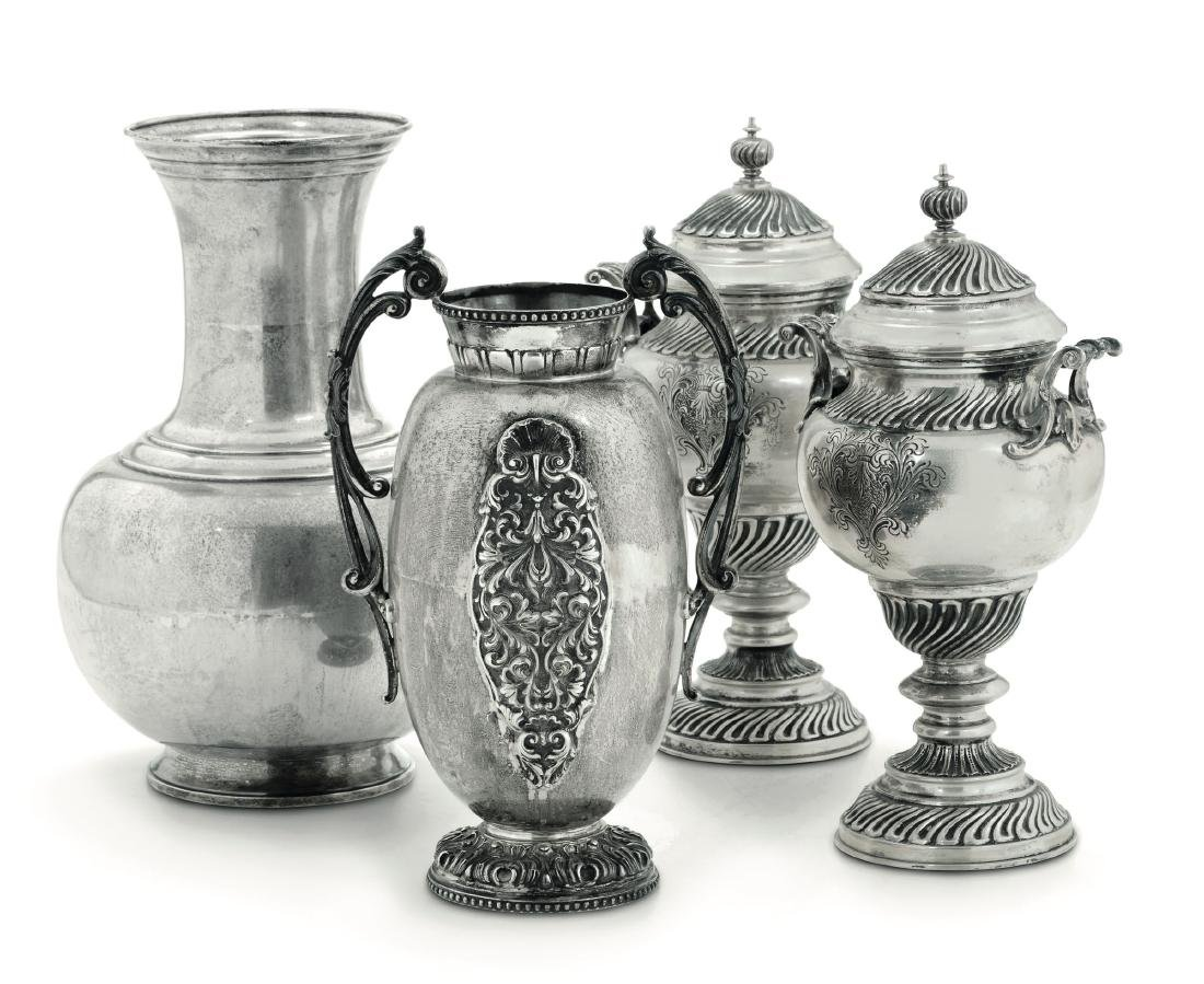 Vases and potiches, Italy, 20th century